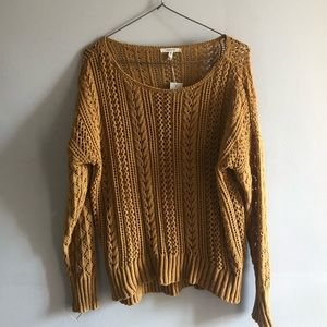 MAURICES Burnt Orange Knitted Sweater